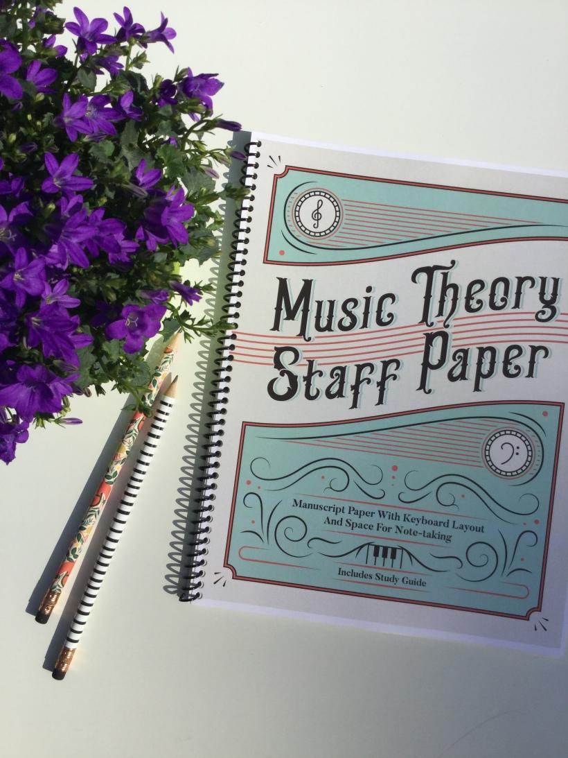 Music Theory Staff Paper Malia Jade Music